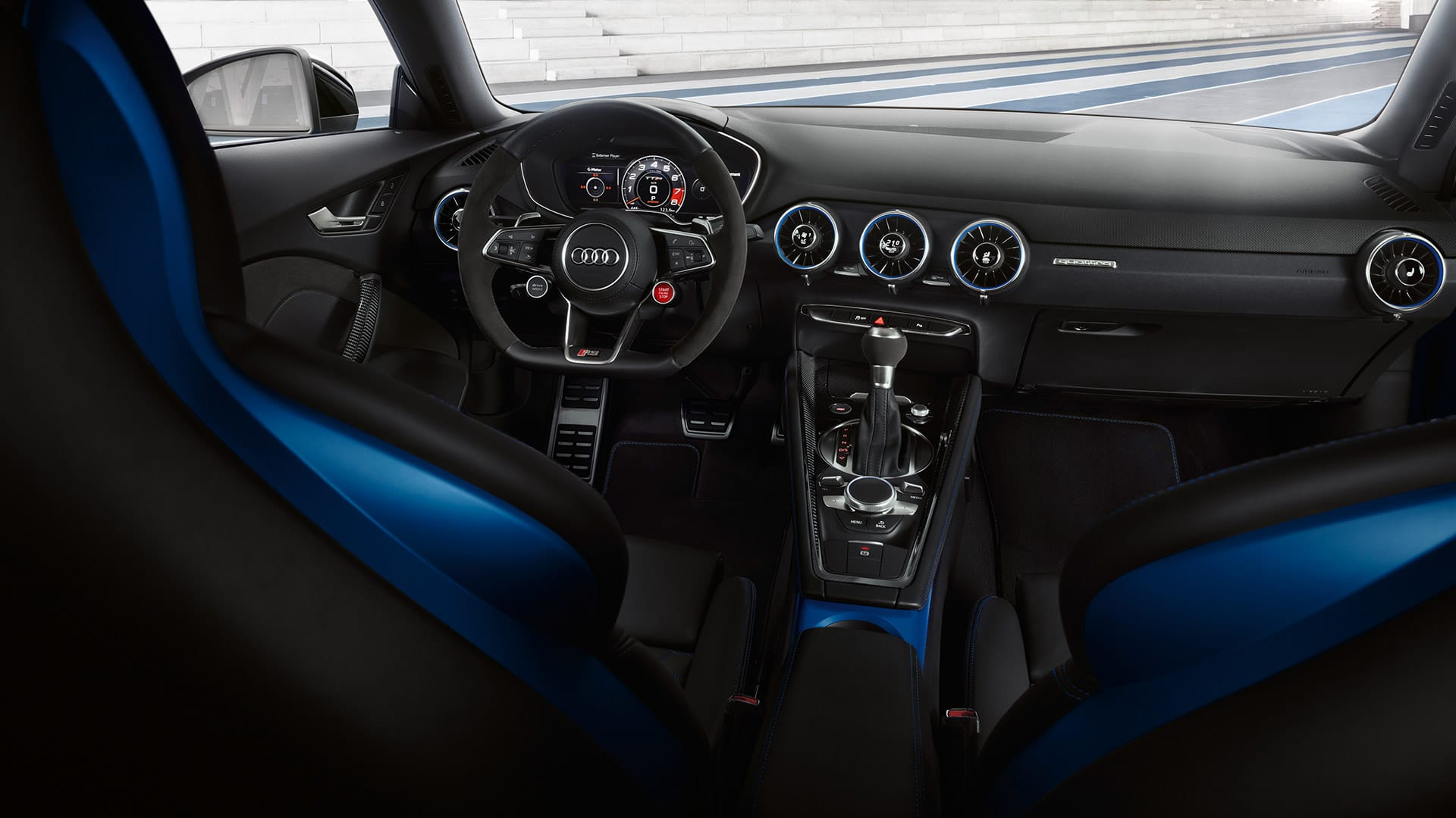 Interior Audi TT RS Coupé